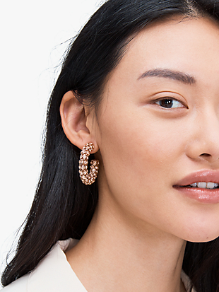 adore-ables hoops by kate spade new york hover view