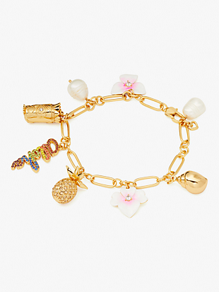aloha pearl charm bracelet by kate spade new york non-hover view