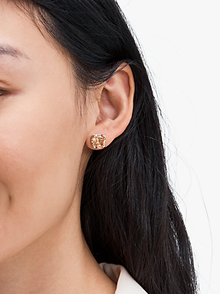 heart studs by kate spade new york hover view