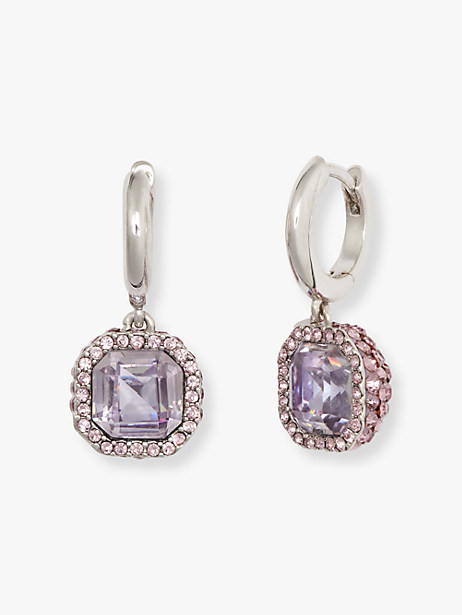 brilliant statements pavé drop earrings by kate spade new york