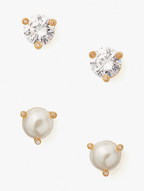 rise and shine 2-stud set by kate spade new york