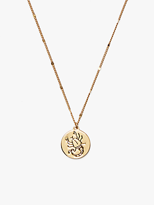 in the stars scorpio pendant by kate spade new york non-hover view