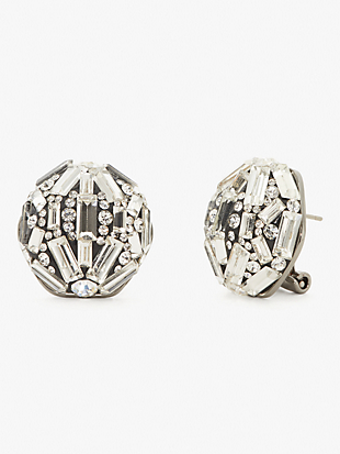 brilliant statements baguette statement studs by kate spade new york non-hover view