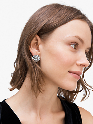 brilliant statements baguette statement studs by kate spade new york hover view