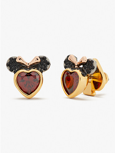 disney x kate spade new york minnie mouse stone studs , , rr_productgrid