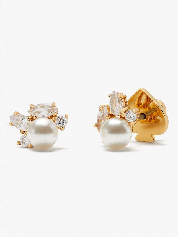little gem cluster studs, , rr_large