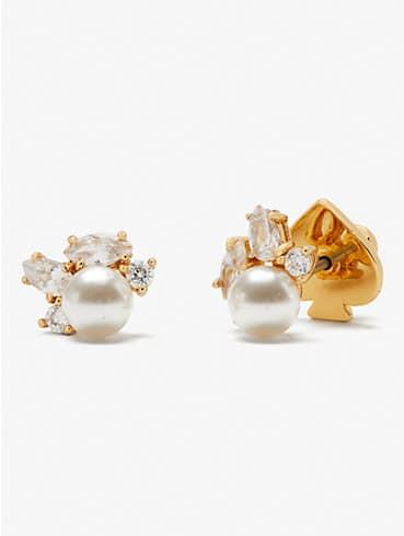 little gem cluster studs, , rr_productgrid