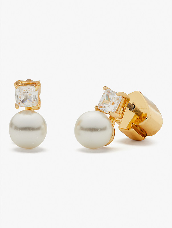 little gem pearl & stone mini studs, , rr_large