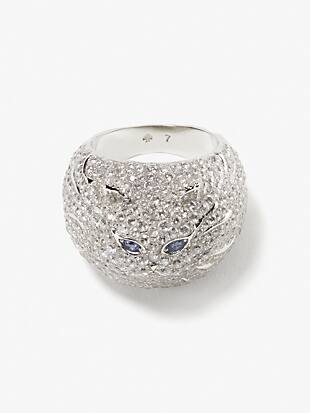 pretty kitty pavé ring by kate spade new york non-hover view