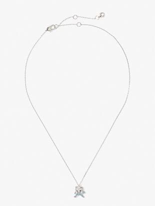 pretty kitty pavé mini pendant by kate spade new york hover view