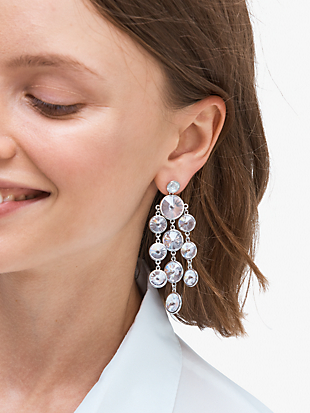 sparkling chandelier earrings by kate spade new york hover view