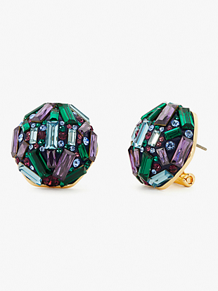 brilliant statements baguette studs by kate spade new york non-hover view