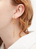 with a twist statement earrings, , s7productThumbnail