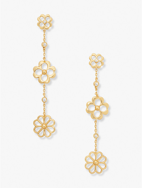 spade floral linear earrings, , rr_large