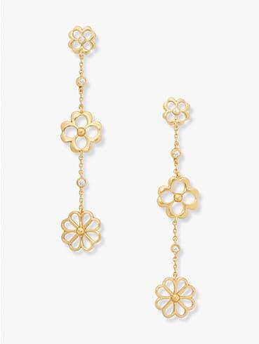spade floral linear earrings, , rr_productgrid