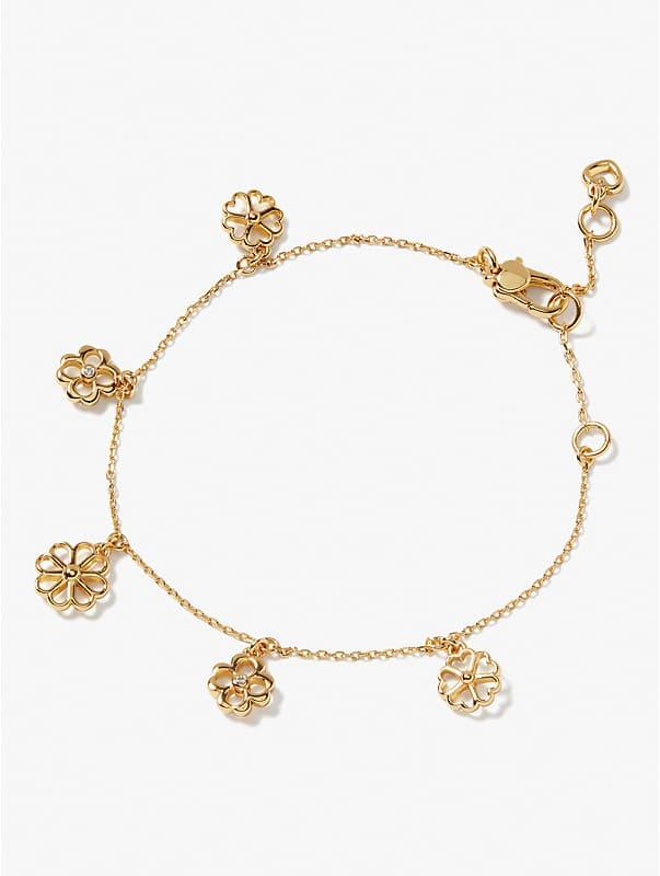 spade floral charm bracelet, , rr_large