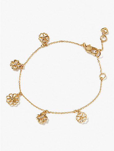 Spade Floral Charm Armband, , rr_productgrid