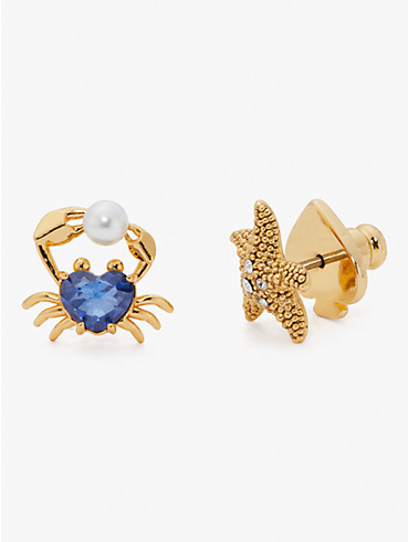 sea star starfish and crab studs, , rr_productgrid