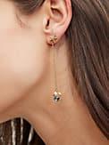 sea star crab linear earrings, , s7productThumbnail