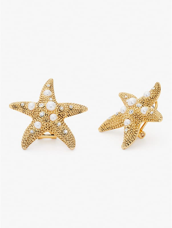 sea star starfish statement studs, , rr_large