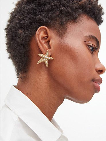 sea star starfish statement studs, , rr_productgrid