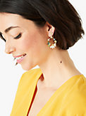 dazzling daisy hummingbird statement hoops, , s7productThumbnail