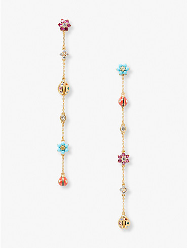 nature walk ladybug linear earrings, , rr_productgrid