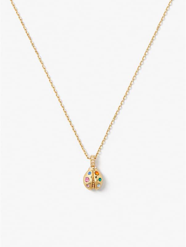 nature walk ladybug mini pendant, , rr_large