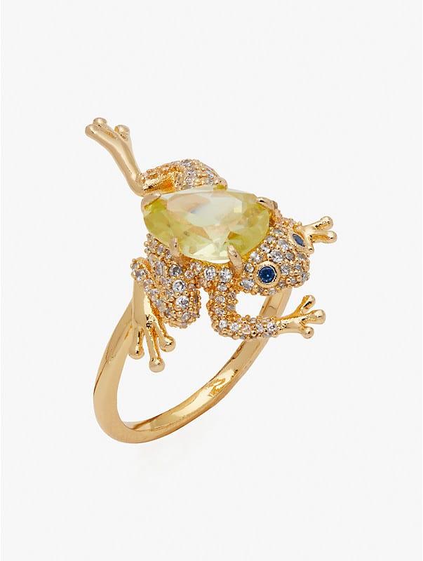 Nature Walk Frog Ring, , rr_large