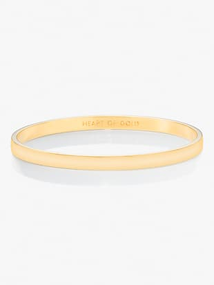 heart of gold idiom bangle by kate spade new york non-hover view