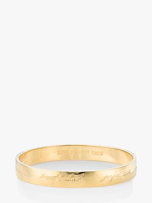 idiom bangles bridesmaid bangle - engraved by kate spade new york non-hover view