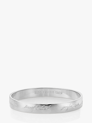 BRIDESMAID BANGLE - ENGRAVED by kate spade new york non-hover view