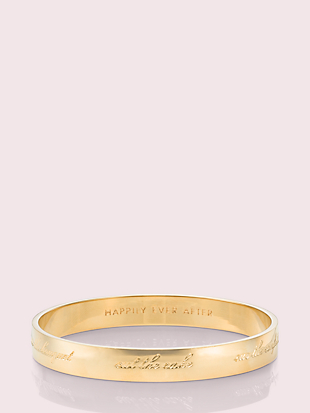 bride idiom bangle by kate spade new york non-hover view