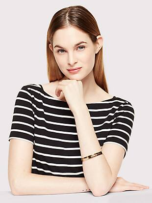 bride idiom bangle by kate spade new york hover view