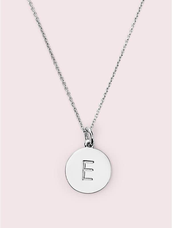 """""""E""""-Anhänger aus Silber, , rr_large"""