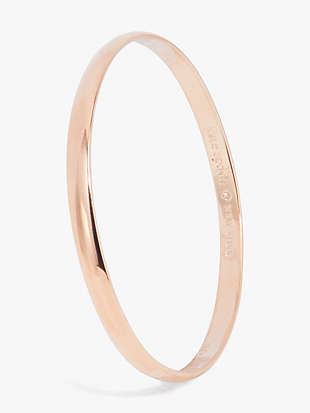 stop and smell the roses idiom bangle by kate spade new york non-hover view
