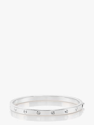 set in stone hinged bangle by kate spade new york non-hover view