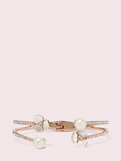 disco pansy double cuff by kate spade new york