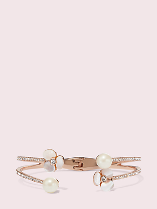 disco pansy double cuff by kate spade new york non-hover view