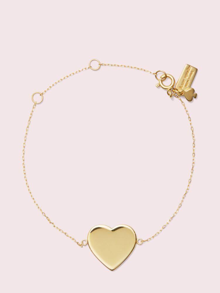 Demi fine heart line bracelet   Kate Spade New York