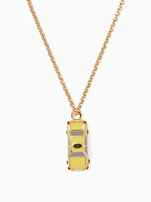 ma chérie taxi mini pendant by kate spade new york non-hover view