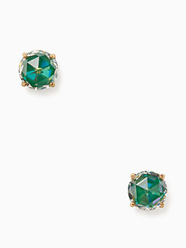 bright ideas studs, emerald, medium