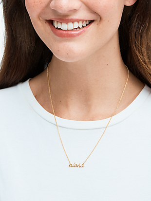 aloha pendant by kate spade new york non-hover view