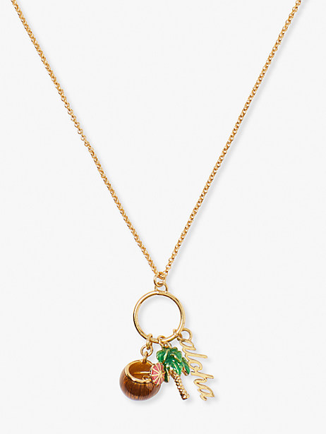 aloha charm pendant by kate spade new york