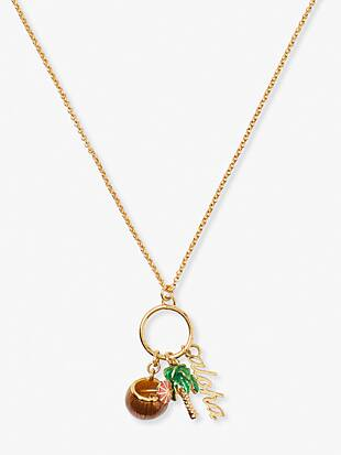 aloha charm pendant by kate spade new york non-hover view