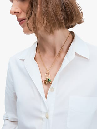 aloha charm pendant by kate spade new york hover view