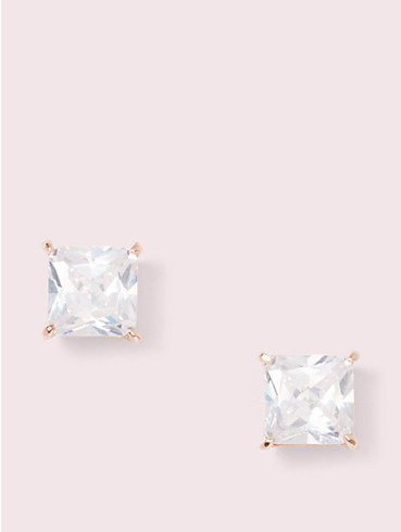 save the date princess cut studs, , rr_productgrid