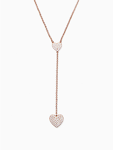 yours truly pave heart y necklace, , rr_productgrid