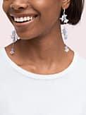full floret statement linear earrings, , s7productThumbnail