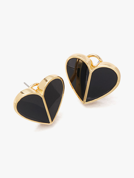 heritage spade heart statement studs by kate spade new york